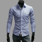 Mens Stripe Shirt
