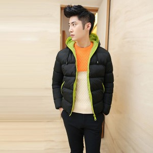 Mens thicken cotton coat