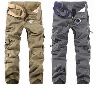 Mens Multi Pockets Pants