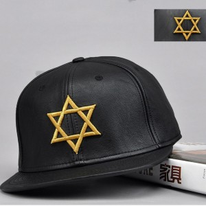 Black Star Embroidery Hats