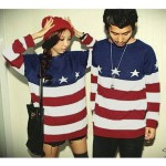 Lovers Star Flag Sweater