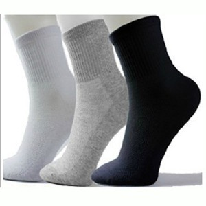 Solid Color Mens Socks