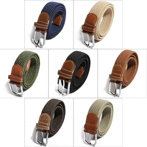 Unisex men buckle belt