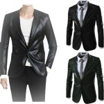 Mens Leather Blazers