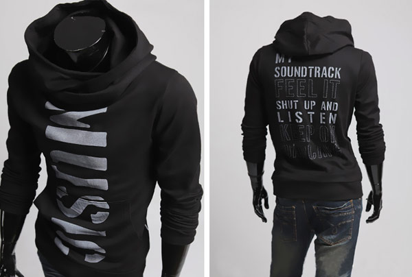 Mens Slim Fit Hoodies