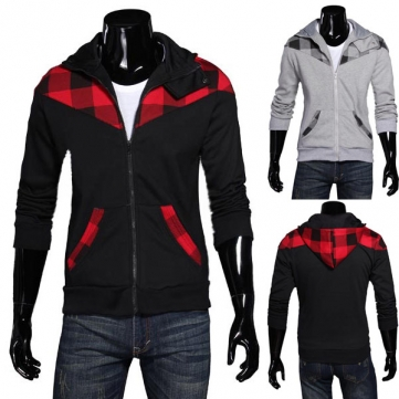 Mens Hooded Cardigan