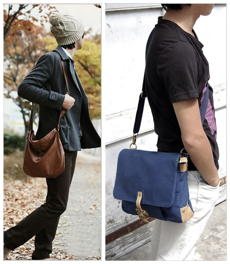 Mens Shoulder Diagonal Bag