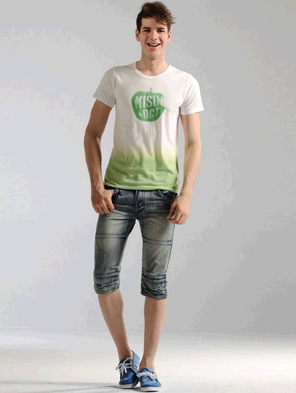mens denim short jeans