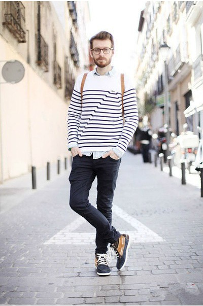 To Enjoy a Cozy and Relax Afternoon: Men's Casual Boat Shoes - Men ...