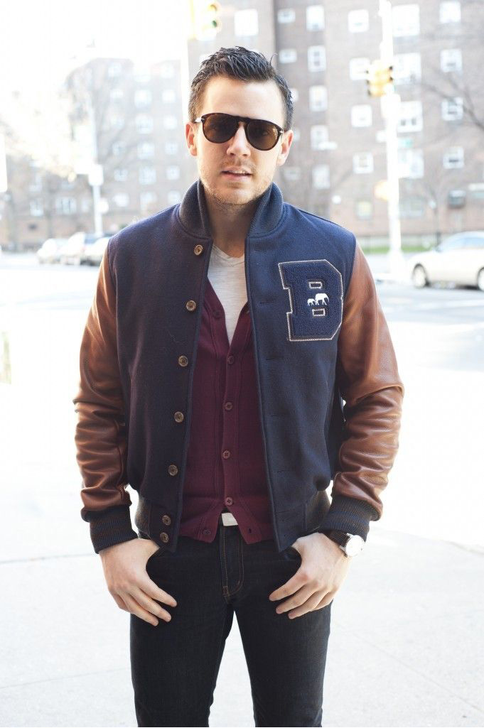 Men's Fashion Essential: Baseball Jackets - Men Fashion Hub