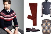 Mens Stylish Knit Sweater