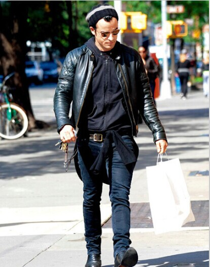 Handsome and Cool Impressions, All Depend on Men's Leather Coats ...