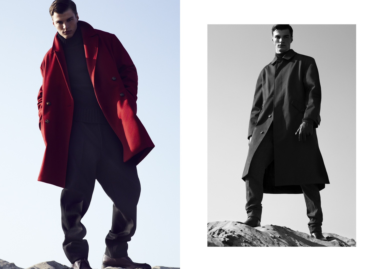 Mens Long Winter Coats Photo Album - Reikian