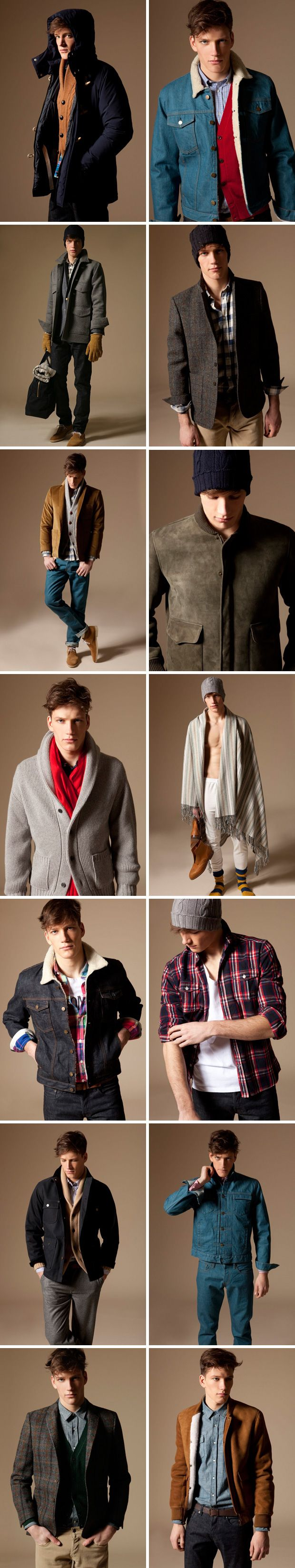 Mens Long Winter Coats