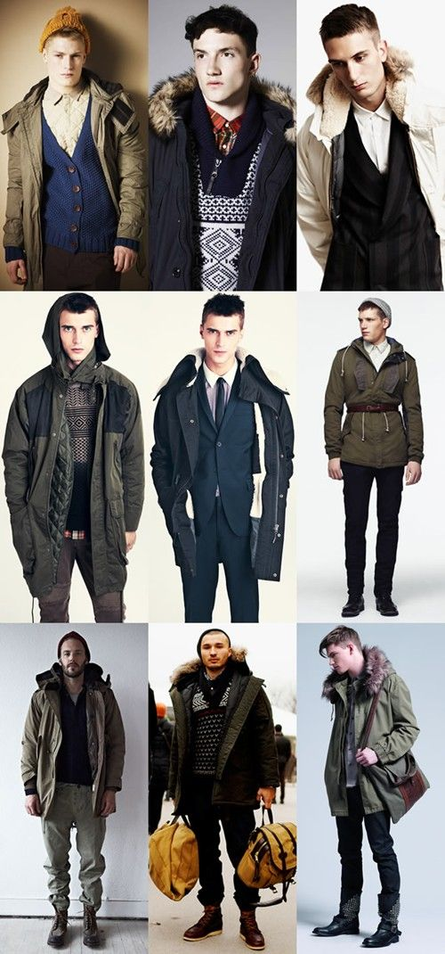 Mens Thicken Long Overcoat