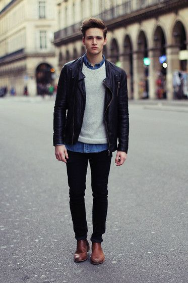 Leather Chivalrousness, Charming Wildness Impressions - Men