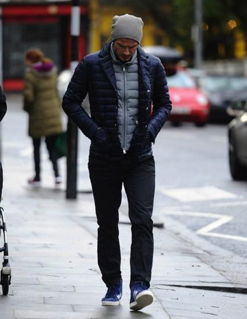 Mens Long Down Coat