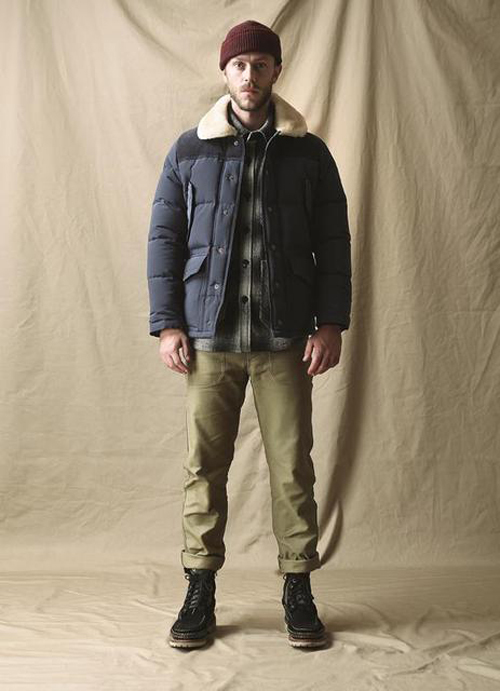 mens padded winter coat