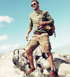Men Hiking Sneakers