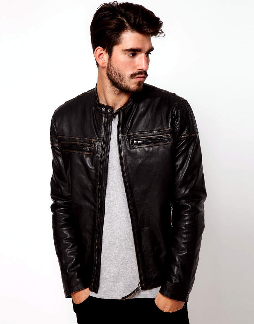 Cool Leather Jackets Give You Enough Warm in Winter Time! - Men