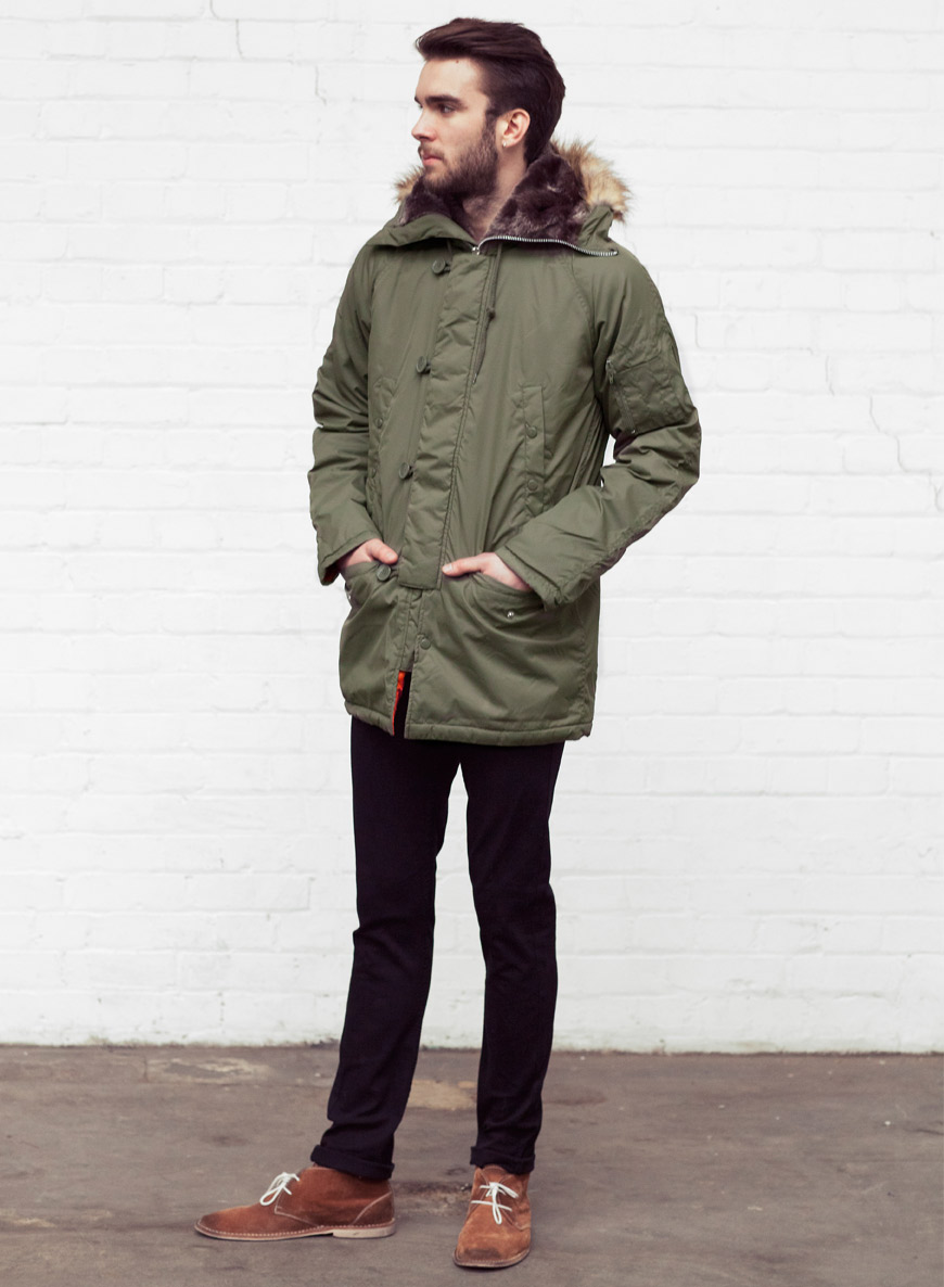 Winter Essential: Men's Winter Parka Overcoat - Men