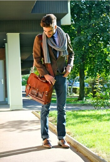 Retro Impression Men S Vintage Casual Messenger Bag Men Fashion Hub