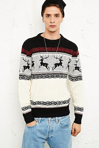 Mens Sweater Pullover Knitwear