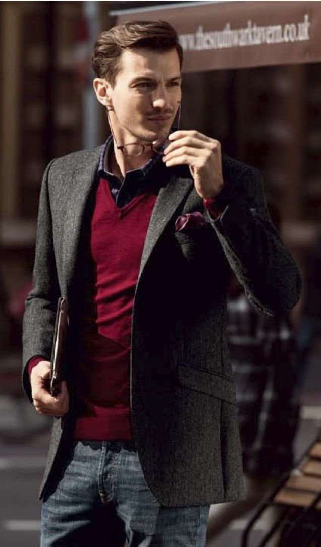 Matching Suggestions of Men's Sweater Vests - Men Fashion Hub