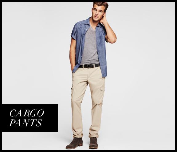 Men's Casual Exclusive, Cargo Pants - Men Fashion Hub