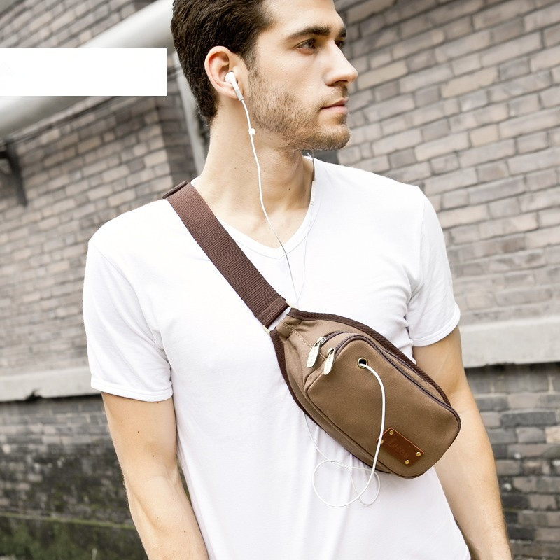 Mens chest bag