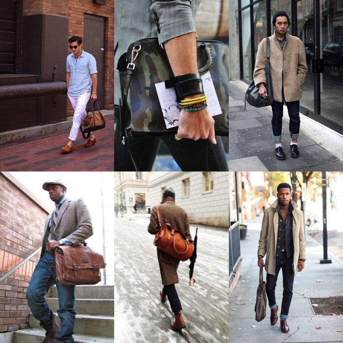 Retro Impression: Men's Vintage Casual Messenger Bag - Men Fashion Hub