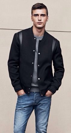 Mens Zippers Jacket