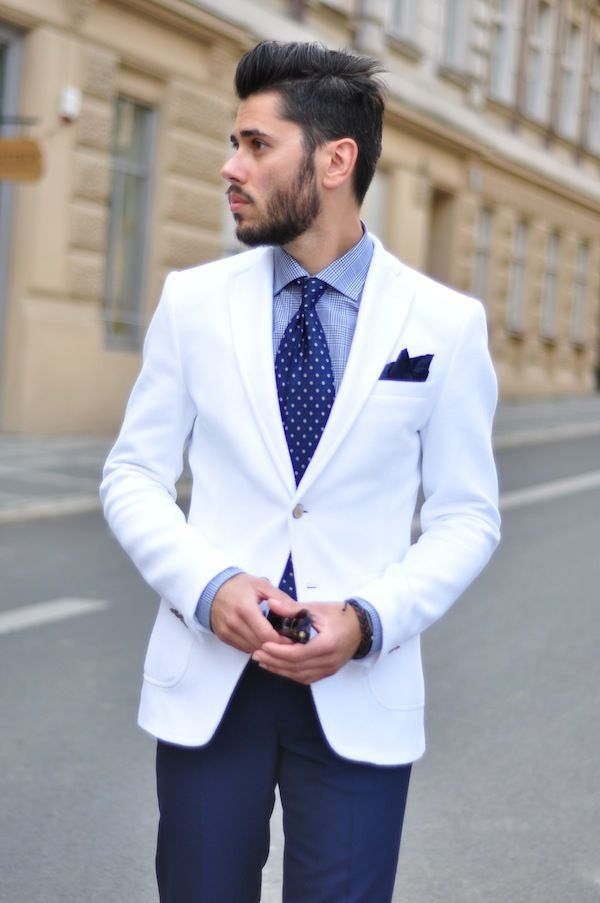 Find a Formal Men's White Suit, a Cotton Men's White Suit and a Classic Men's White Suit at Macy's. Macy's Presents: The Edit- A curated mix of fashion and inspiration Check It Out. Free Shipping with $99 purchase + Free Store Pickup. Contiguous US. Perry Ellis Men's Big and Tall Linen Blend Suit Jacket.