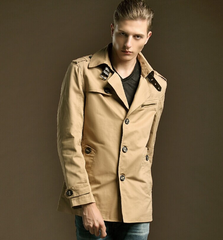 Winter Mens Collar Coat
