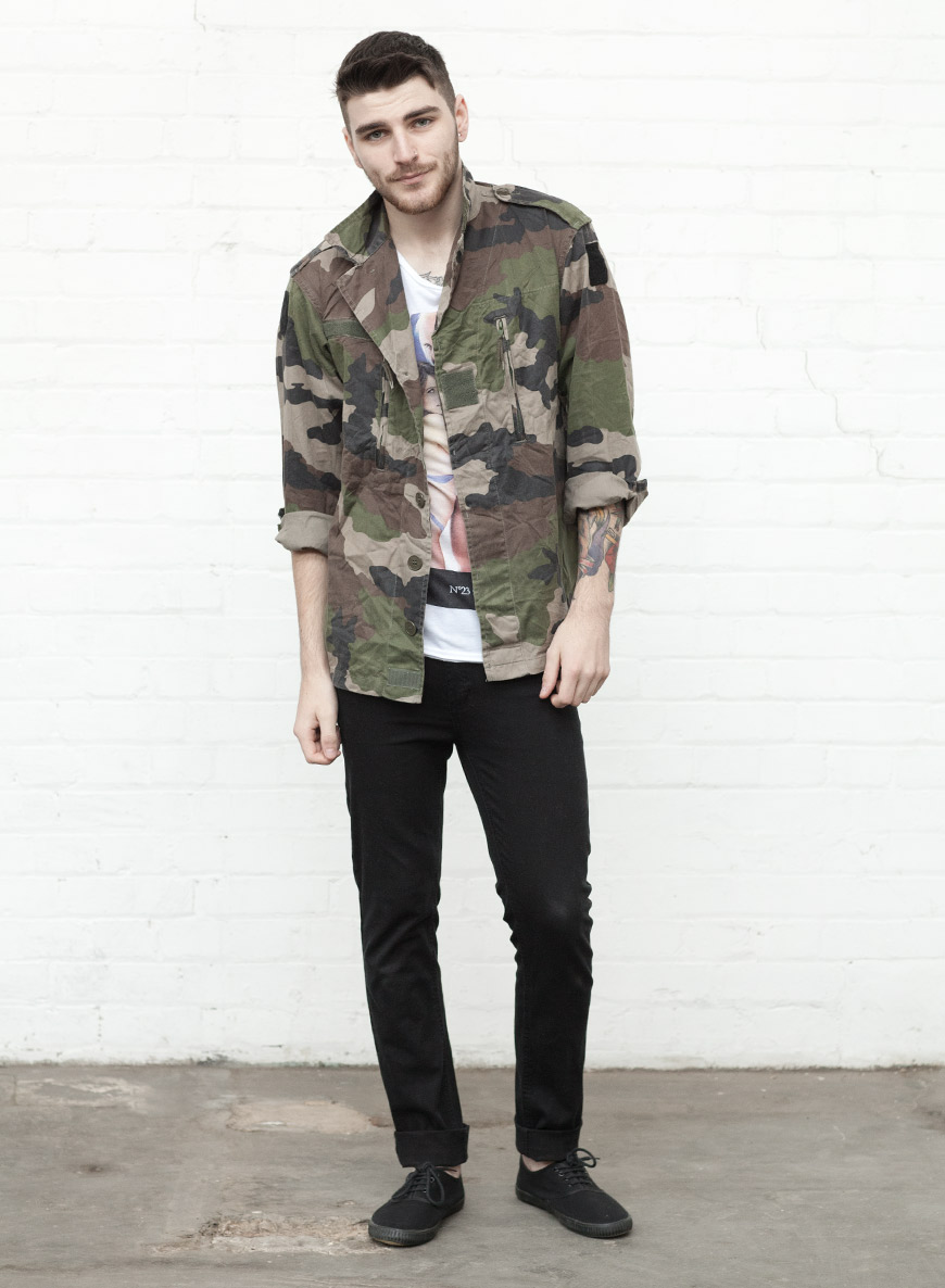 Extraordinarily Unique Street Style Fashion Artistic Looks Cool Camouflage Coats Men Fashion Hub