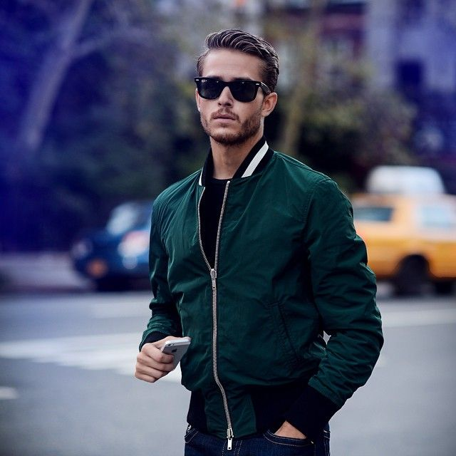 2015 Spring Essential For Men Bomber Jackets Men Fashion Hub