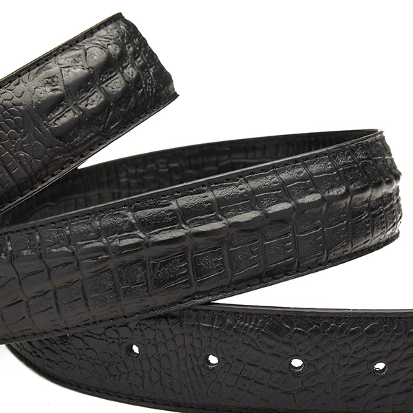 leather alligator belt