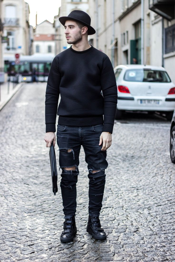 Cool Boysu2019 Favorites Designer Ripped Jeans - Men Fashion Hub