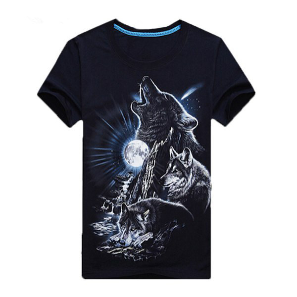 It's Really Cool! 3D Animal Print T-shirts
