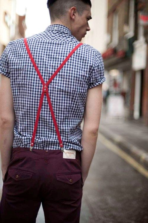 men grid shirts