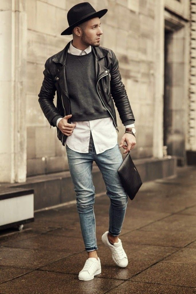 men white sneakers