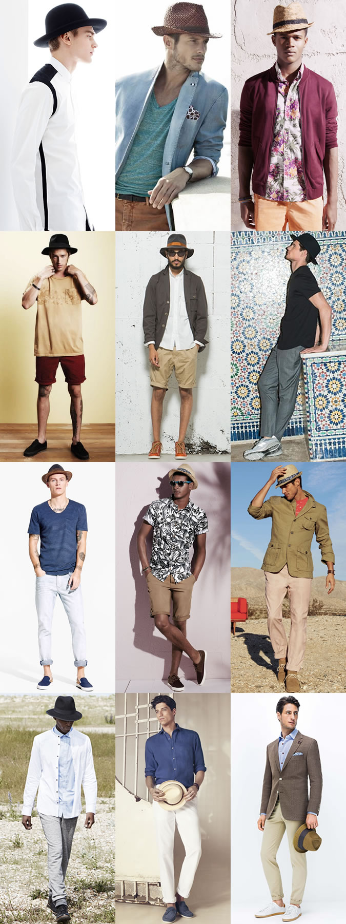 The Most Fashionable Men s Hats in 2015 Spring Summer - Men Fashion Hub 022ee28cbafd