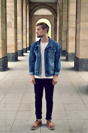 men denim fashion