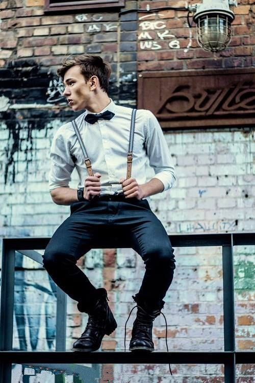 men suspenders