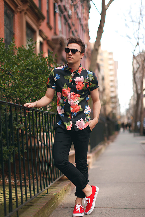 floral shirts
