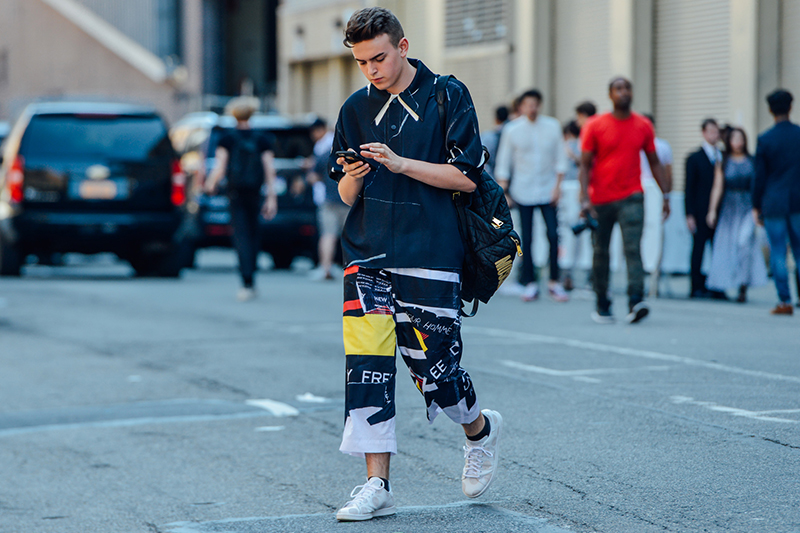 men fashion street snaps