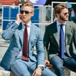 men windowpane fashion