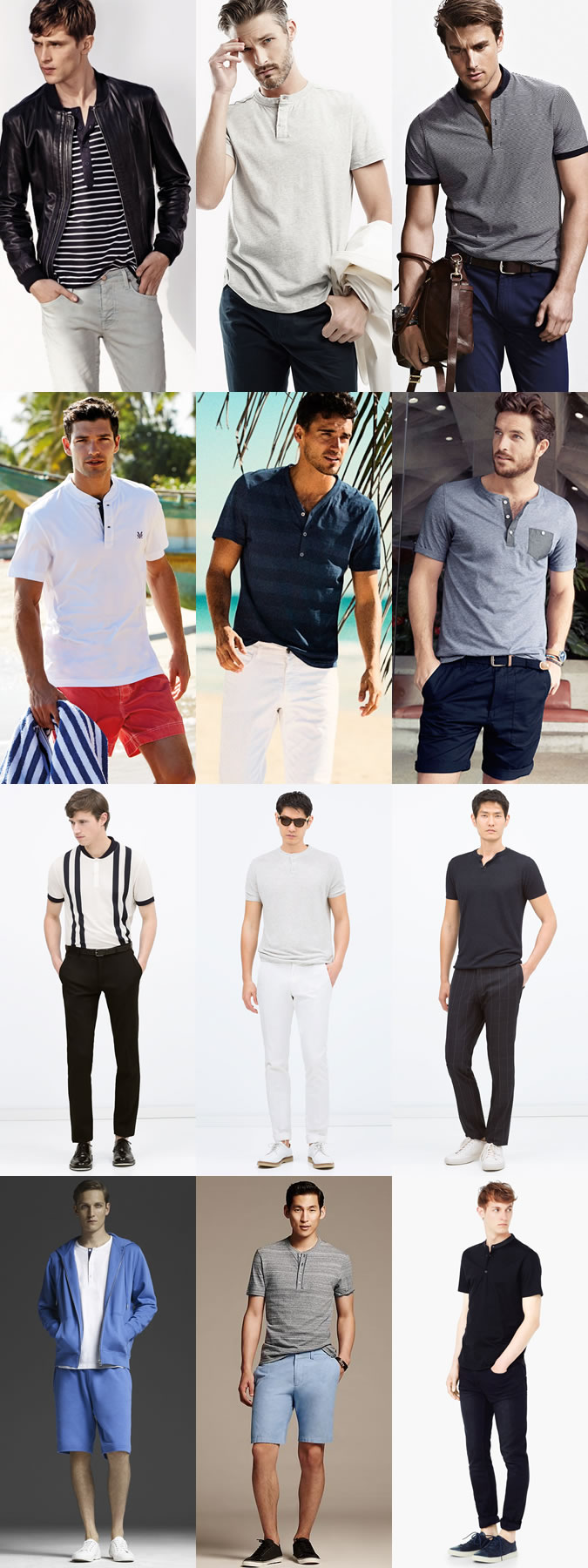 short-sleeved shirts