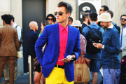 men pink fashion