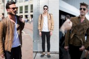 men suede jackets